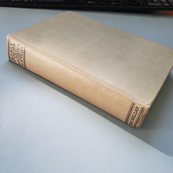 Book Early Poems and Stories by W.B. Yeats